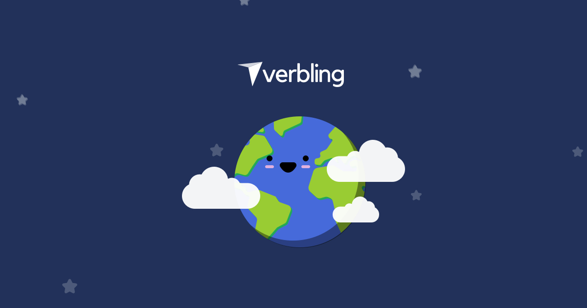Verbling Language Game